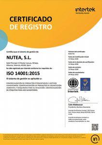 CERTIFICADO14001